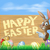 easter bunny happy easter sign stock photo © krisdog