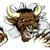bull sports mascot concept stock photo © krisdog