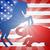american election concept donkey beating elephant stock photo © krisdog