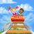 amusement park roller coaster stock photo © krisdog