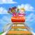 fun roller coaster kids stock photo © krisdog