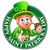 saint patricks day cartoon leprechaun sign stock photo © krisdog