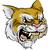 panter · maskot · karakter · örnek · siyah - stok fotoğraf © krisdog