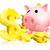 розовый · Piggy · Bank · Золотые · монеты · деньги · знак · игрушку - Сток-фото © krisdog