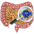 friendly intestine probiotic bacteria mascot stock photo © krisdog