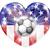 usa soccer heart flag stock photo © krisdog