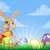 Easter · Bunny · punten · mand · eieren · mascotte · karakter - stockfoto © krisdog