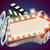 filmszalag · neonreklám · film · promóció · fény · terv - stock fotó © krisdog