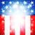 nap · Egyesült · Államok · negyedike · egyszerű · ikonok · vektor - stock fotó © krisdog