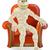 halloween mummy in chair stock photo © krisdog