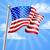 USA · star · dag · ontwerp · Blauw · vlag - stockfoto © krisdog