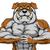 strong bulldog mascot stock photo © krisdog