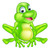 cartoon cute frog stock photo © krisdog