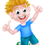 счастливым · мальчика · воздуха - Сток-фото © krisdog