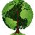 logotipo · da · empresa · folhas · verdes · árvore · projeto · folha - foto stock © krisdog