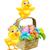 kabarık · sarı · civciv · tavuk · küçük · beyaz - stok fotoğraf © krisdog