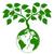мира · листьев · простой · икона · карта · Мир - Сток-фото © krisdog