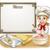 rajz · nő · sütemény · szakács · pék · minitorta - stock fotó © krisdog