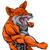 cartoon · wolf · lopen · aanval · uit - stockfoto © krisdog