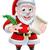 вектора · Дед · Мороз · чистый · лист · бумаги · Рождества · иллюстрация - Сток-фото © krisdog