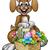 easter bunny cartoon character stock photo © krisdog