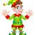 クリスマス · サンタクロース · ブーツ · 芸術 · 漫画 - ストックフォト © krisdog