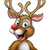 christmas reindeer cartoon stock photo © krisdog