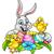Пасхальный · заяц · шоколадом · яйца · корзины · Cute · полный - Сток-фото © krisdog