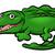 krokodil · aligátor · állat · rajzfilmfigura · aranyos · kabala - stock fotó © krisdog