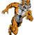 tiger sports mascot running stock photo © krisdog