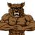 güçlü · kurt · maskot · karakter · spor · hazır - stok fotoğraf © krisdog
