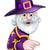 Хэллоуин · ведьмой · выделите · баннер · знак · характер - Сток-фото © krisdog