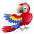 parrot animal cartoon character stock photo © krisdog