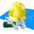 hard hat tools and blueprint stock photo © krisdog