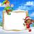 サンタクロース · 帽子 · スクロール · クリスマス · 招待 · 実例 - ストックフォト © krisdog