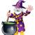 wizard cartoon character stock photo © krisdog