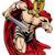 espartano · homem · corrida · ilustração · guerreiro - foto stock © krisdog
