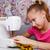 школьница · швейные · машины · швейных · класс · образование · таблице - Сток-фото © krugloff