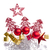 christmas decoration with trees and balls stock photo © kubais