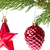 rosso · Natale · gingillo · impiccagione · ramoscello · bianco - foto d'archivio © kubais