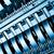 pormenor · azul · frieza · tecnologia · computador - foto stock © kubais