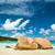 plaj · ada · Seyşeller · gökyüzü · su · manzara - stok fotoğraf © kubais