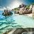 пляж · Гранит · бирюзовый · морем · воды · лист - Сток-фото © kubais