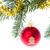 常緑 · 赤 · クリスマス · ボール - ストックフォト © kubais