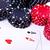 チップ · 4 · 黒 · 白 · ギャンブル · チップ - ストックフォト © kubais