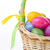 colorful easter eggs in basket stock photo © kubais