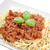 húsgombócok · paradicsomszósz · friss · bazsalikom · spagetti · fehér - stock fotó © kuligssen
