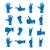 ikonok · kéz · gesztusok · különböző · izolált · fehér - stock fotó © kup1984