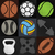 set sport background vector illustration stock photo © kup1984
