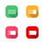 icons battery vector illustration stock photo © kup1984